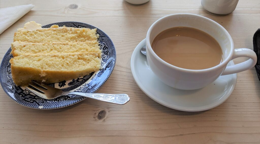 Wickwar Coffee Shop food
